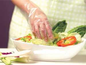 Găng tay nilon đục lỗ