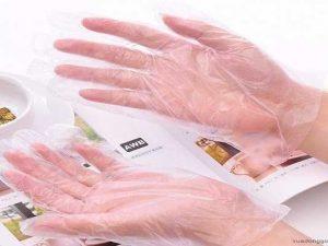 Găng tay nilon không đục lỗ