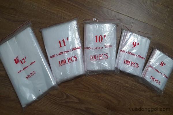 Túi Zipper số