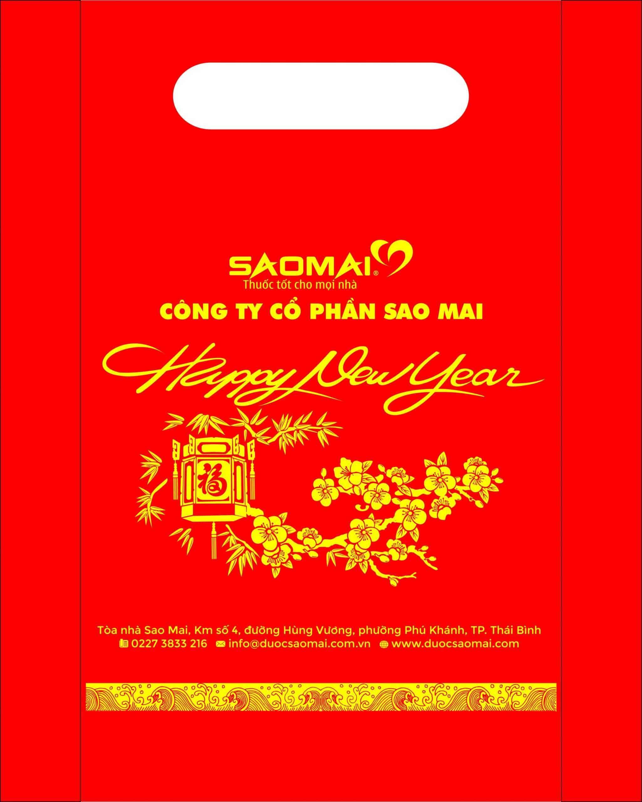 túi chúc mừng năm mới